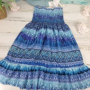 Girls Squeeze Tube Top Dress Size 7/8